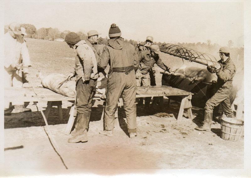 hog-killing-norris-farm-far-right-cecil-rhodes-img193