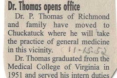 Dr-Thomas-opens-office