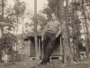 joe-byrd-at-boy-scout-cabin-on-gray-farm-leroy-howell-photo