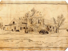 pensil-sketch-of-moores-store-and-gwaltneys-store-img413