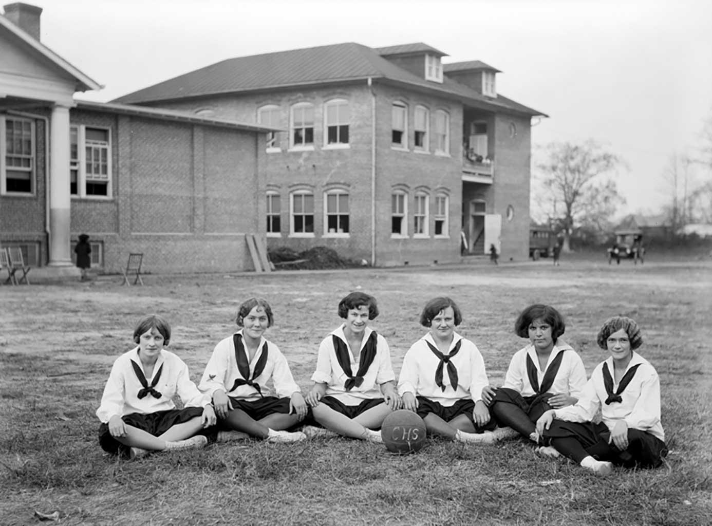chs-girls-basketball-team-1924-1925-0003-chuckatuck-school