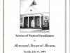 LBBC Pastoral Inst. 7-11-2004