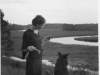 mary-martin-overlooking-western-branch-before-dam-circa-1930-img338