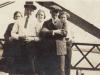L to R - ? - James Elwood Gayle, Sr.- Edith Gayle Bradshaw - Ross Bradshaw - Louise Gayle Sutton on Reid's Ferry Bridge