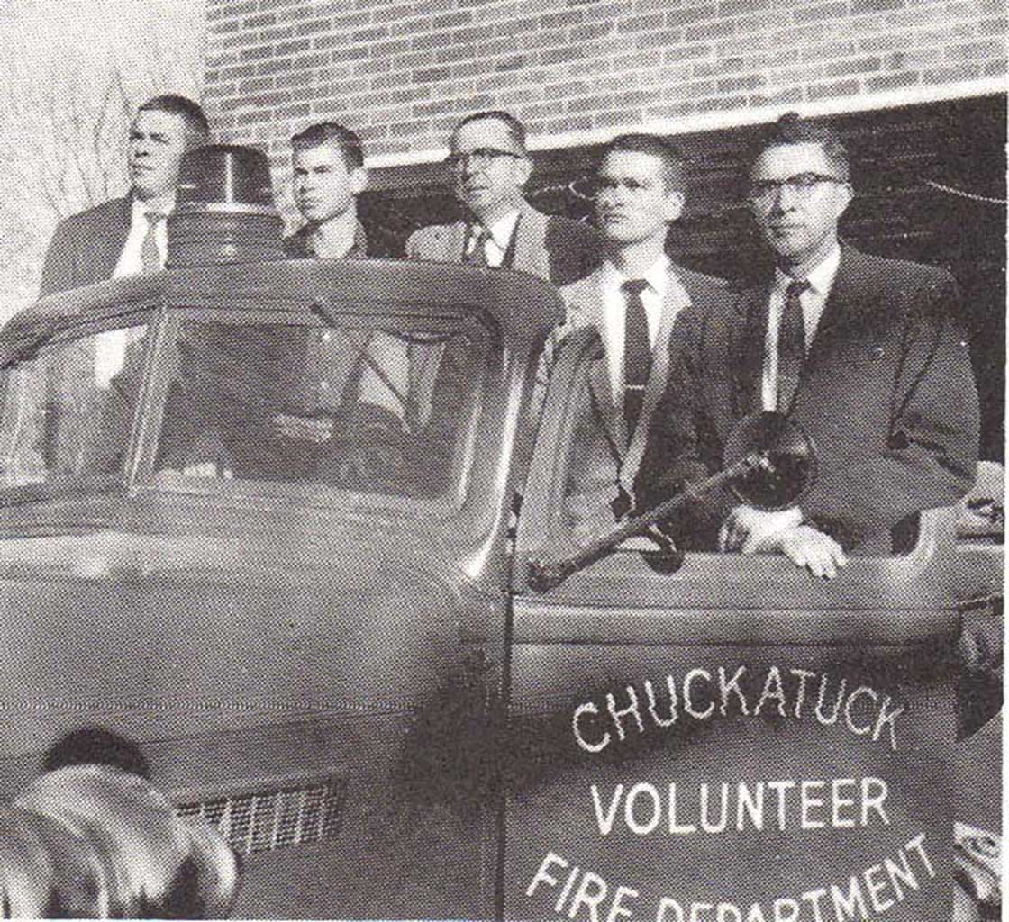 leslie-gayle-jr-vernon-gayle-leslie-gayle-sr-jimmy-wolford-oscar-wolford-on-first-fire-truck-c1956-emma-kelly-collection