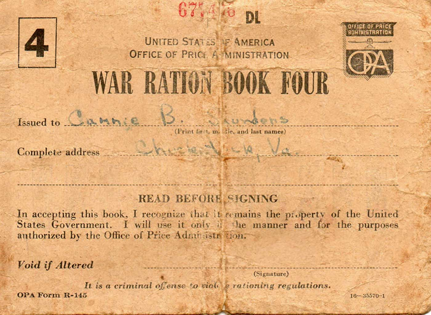 war-ration-coupon-book-front-cover-img839