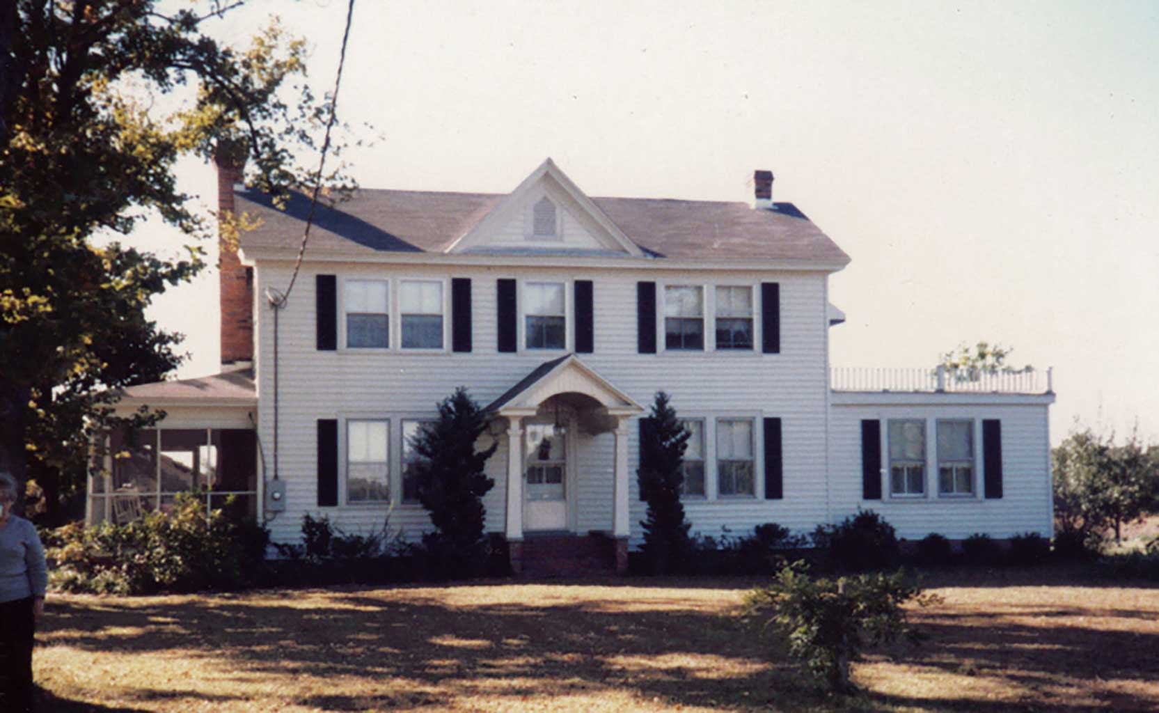 Horne home at Longview. 1990s