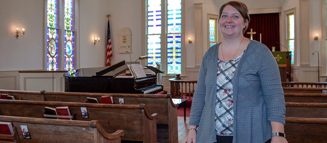 New pastor cruises into Chuckatuck